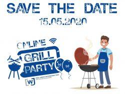 KJU Onilne-Grill-Party